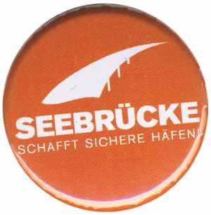 25mm Magnet-Button: Seebrücke