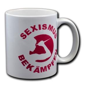 Tasse: Sexismus bekämpfen