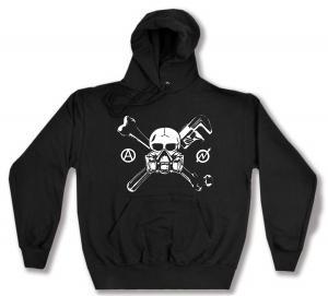 Kapuzen-Pullover: Skull - Gasmask