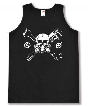 Tanktop: Skull - Gasmask