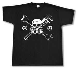 T-Shirt: Skull - Gasmask