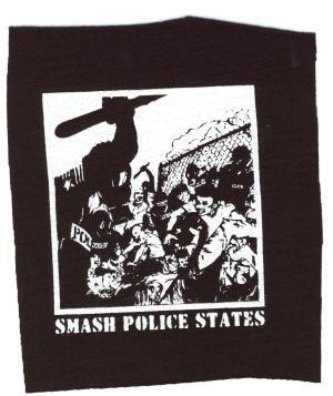 Aufnäher: Smash Police States