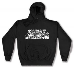 Kapuzen-Pullover: Solidarity