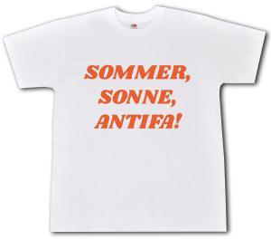 T-Shirt: Sommer, Sonne, Antifa!
