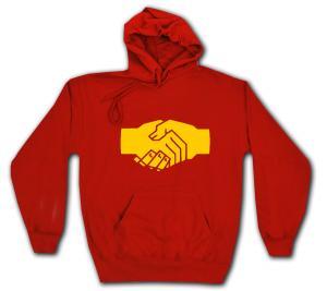 Kapuzen-Pullover: Sozialistischer Handschlag