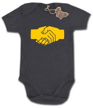 Babybody: Sozialistischer Handschlag