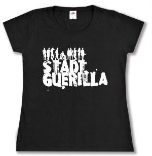 tailliertes T-Shirt: Stadtguerilla
