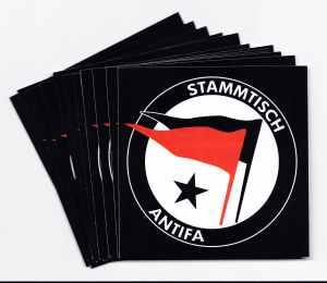 Aufkleber-Paket: Stammtischantifa