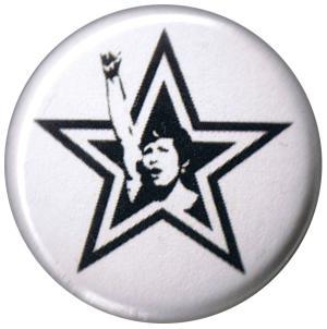 50mm Button: Starfist