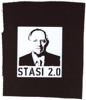 Aufnäher: Stasi 2.0
