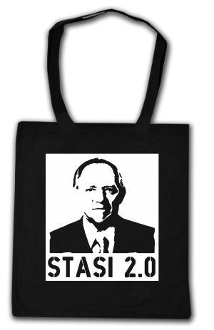 Baumwoll-Tragetasche: Stasi 2.0