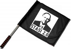 Fahne / Flagge (ca. 40x35cm): Stasi 2.0