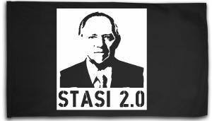 Fahne / Flagge (ca. 150x100cm): Stasi 2.0
