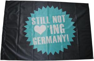 Fahne / Flagge (ca. 150x100cm): Still not loving Germany!