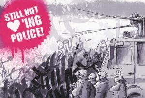 Aufkleber-Paket: Still Not Loving Police!