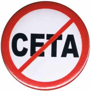 37mm Button: Stop CETA