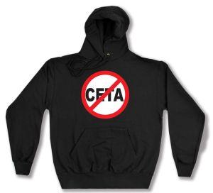 Kapuzen-Pullover: Stop CETA