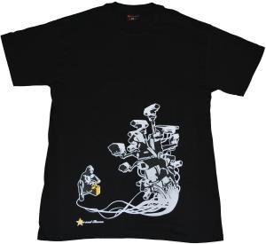 T-Shirt: Stop Control black
