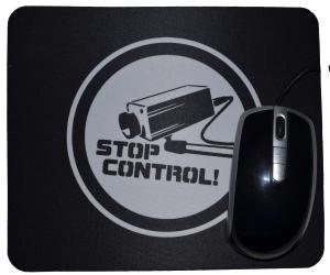 Mousepad: Stop Control Kamera