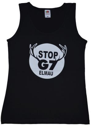 tailliertes Tanktop: Stop G7 Elmau