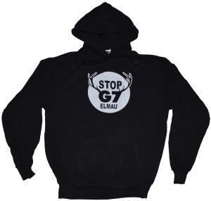 Kapuzen-Pullover: Stop G7 Elmau
