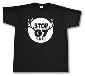 T-Shirt: Stop G7 Elmau