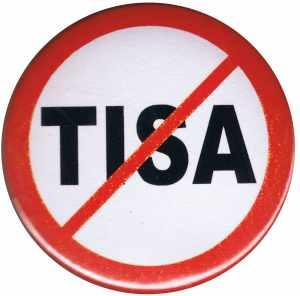 37mm Magnet-Button: Stop TISA