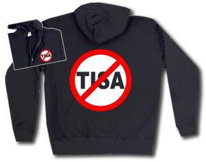Kapuzen-Jacke: Stop TISA