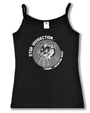Trägershirt: Stop Vivisection! Animal Liberation Now!!!