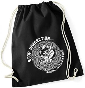 Sportbeutel: Stop Vivisection! Animal Liberation Now!!!