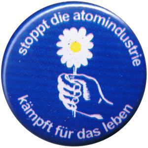 25mm Magnet-Button: Stoppt die Atomindustrie