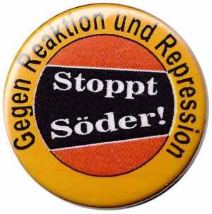 50mm Button: Stoppt Söder!