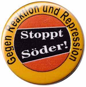 25mm Button: Stoppt Söder!