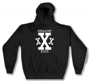 Kapuzen-Pullover: Straight Edge