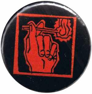 37mm Magnet-Button: Streichholz