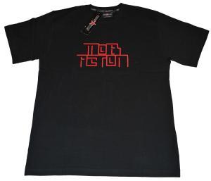 T-Shirt: Stripe black