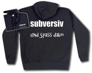 Kapuzen-Jacke: subversiv und Spass dabei