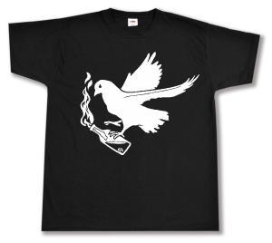 T-Shirt: Taube mit Molli
