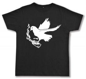 Fairtrade T-Shirt: Taube mit Molli