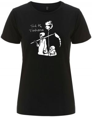 tailliertes Fairtrade T-Shirt: Tod und Tödchen