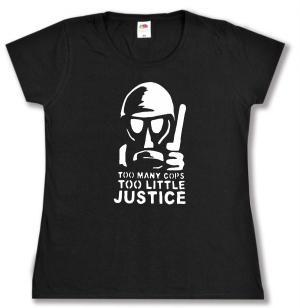 Girlie-Shirt: Too many Cops