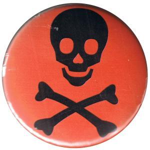 50mm Button: Totenkopf