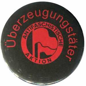 37mm Button: Überzeugungstäter Fahnen