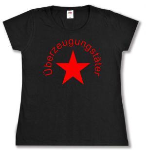 tailliertes T-Shirt: Überzeugungstäter Stern