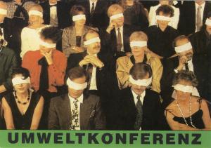 Postkarte: Umweltkonferenz
