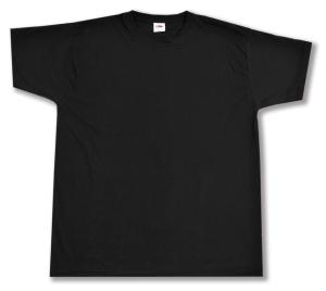 T-Shirt: Unbedrucktes T-Shirt
