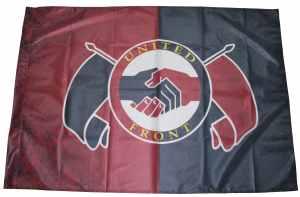 Fahne / Flagge (ca. 150x100cm): United Front