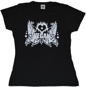tailliertes T-Shirt: Vegan