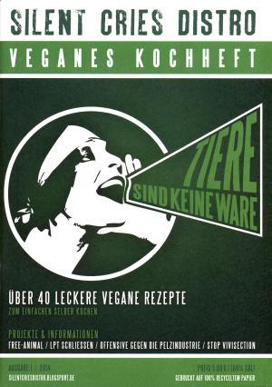 Broschüre: Veganes Kochheft