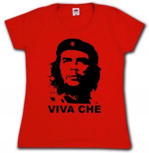tailliertes T-Shirt: Viva Che Guevara